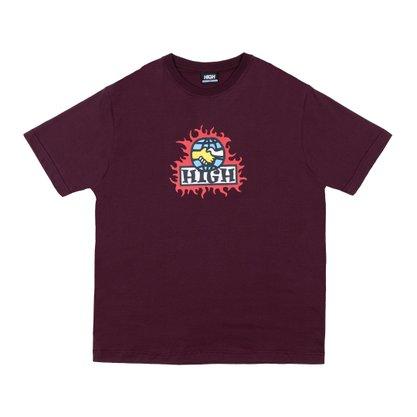 Camiseta High Company Mondo Vinho