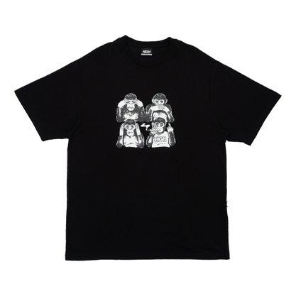 Camiseta High Company Monkeys Preto