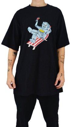 Camiseta High Company Robot Preto