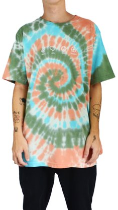 Camiseta Hocks Vibez Verde/Laranja