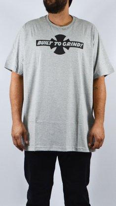 Camiseta Independent Big B.T.G Logo Mescla Claro