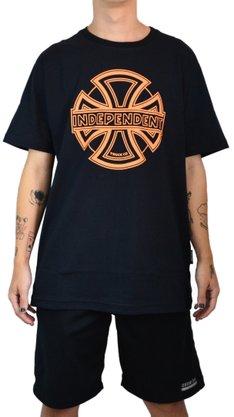 Camiseta Independent Convex Preto