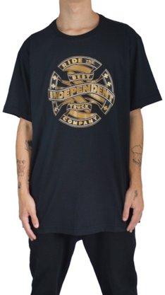 Camiseta Independent Ribbon Preto