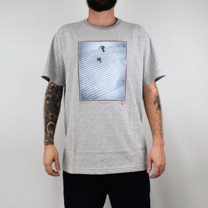 Camiseta Masculina Independent Burnett Jaws Mescla