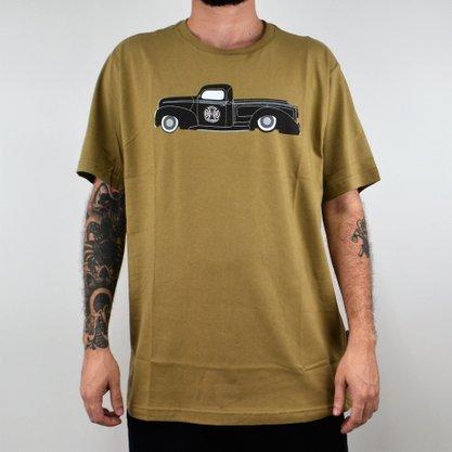 Camiseta Masculina Independent Pick Up Caqui