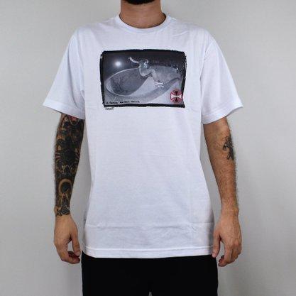 Camiseta Masculina Independent Rhino Branco