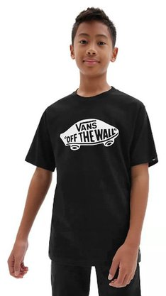 Camiseta Infantil Vans OTW Logo Preto