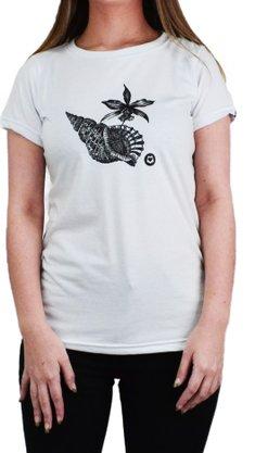 Camiseta Loveboard Eco Conchaflor Branco