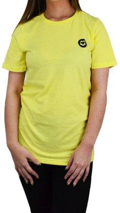 Camiseta Loveboard Viva Simples Amarelo