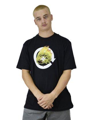 Camiseta LRG Don't Panic Preto