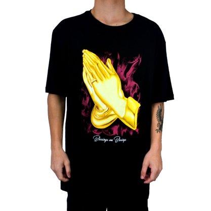 Camiseta Maculina Dgk Always Preto