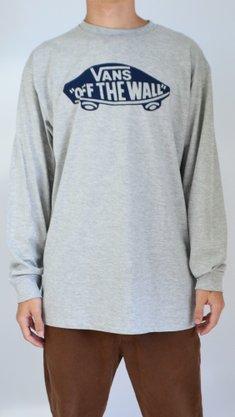 Camiseta Manga Longa Vans OTW Mescla Claro