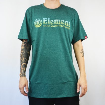 Camiseta Masculina Element Erase Verde