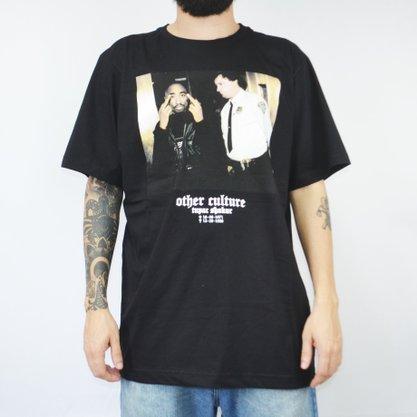 Camiseta Masculina Other Culture 2Pac Preto