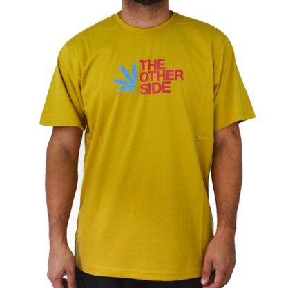 Camiseta Masculina Other Culture Hallucinogen Caqui