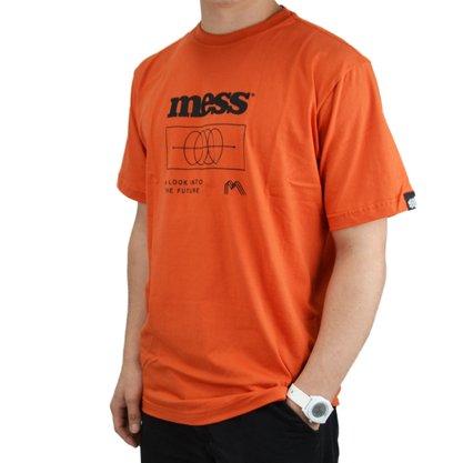 Camiseta Mess Wormhole Laranja