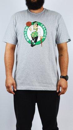 Camiseta New Era NBA Boston Celtics Mescla Claro