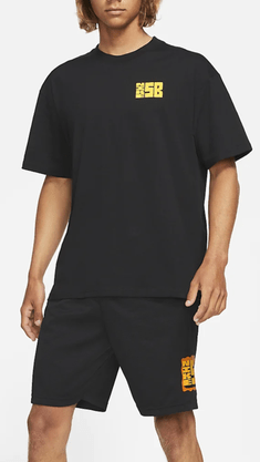 Camiseta Nike SB Sunday Loose Fit Preto