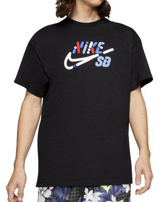 Camiseta Nike SB Yoon Air Logo Preto