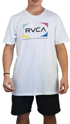 Camiseta RVCA Quad Branco