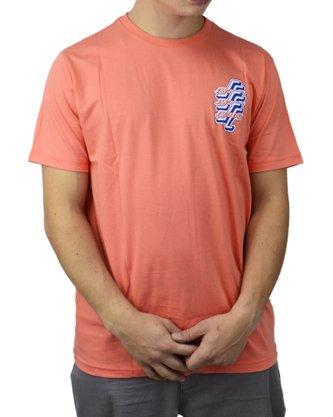 Camiseta Santa Cruz Check OGSC Coral