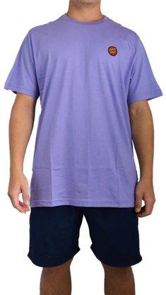 Camiseta Santa Cruz Classic Dot Chest Lilás