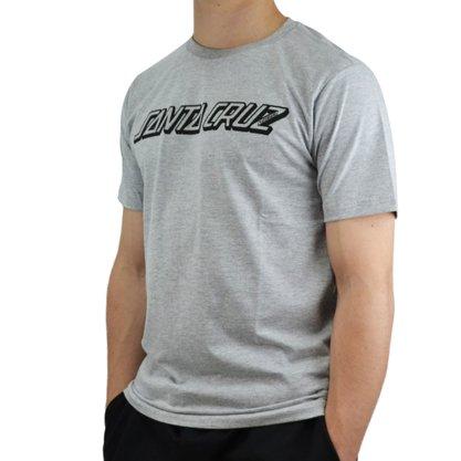 Camiseta Santa Cruz Classic Mescla Claro