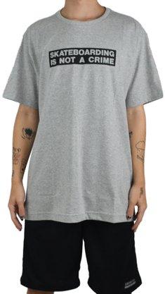 Camiseta Santa Cruz Crime Mescla Claro