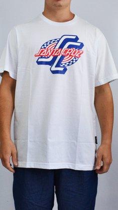 Camiseta Santa Cruz OGSC Spiral Branco