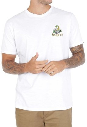 Camiseta Vans Biters Beware SS Branco