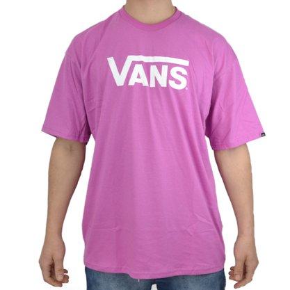 Camiseta Vans Classic Rosa