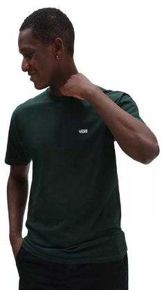 Camiseta Vans Core Basics Tee Scarab Verde Escuro