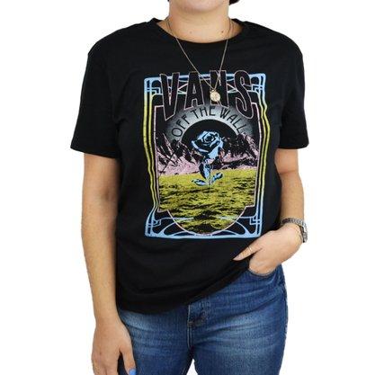 Camiseta Vans Desert Rock Preto