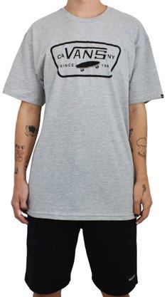 Camiseta Vans Full Patch Mescla Claro