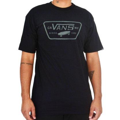 Camiseta Vans Full Patch Variat Preto