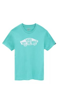 Camiseta Vans OTW Logo Azul Claro