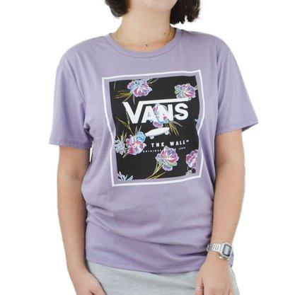Camiseta Vans Paradise Floral Lilás