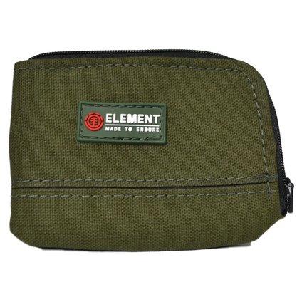 Carteira Element Camper Purse Verde Militar