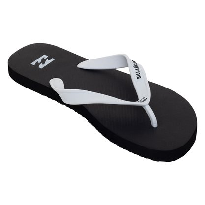 Chinelo Billabong Essencial Preto/Branco