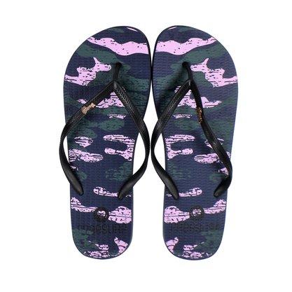 Chinelo Feminino Free Surf Army Preto