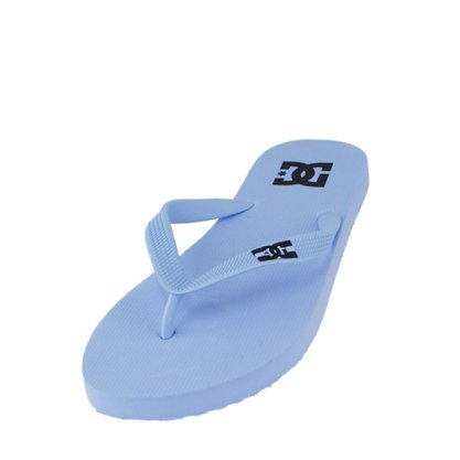 Chinelo Masculino DC Spray Branco
