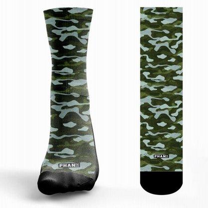 Meia Phante Socks Army