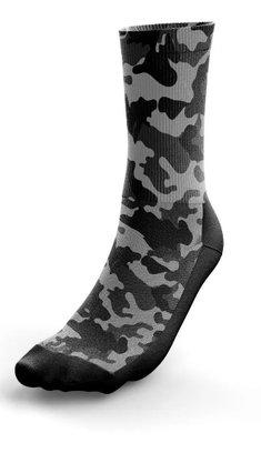 Meia Phante Socks Army Black Preto/Cinza