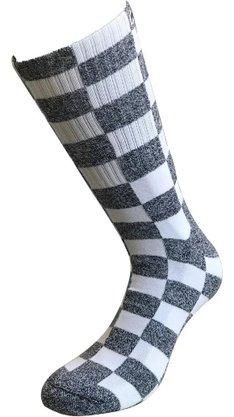Meia Phante Socks Chess Mescla Claro