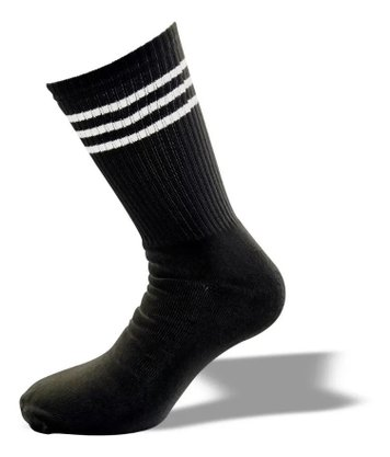 Meia Phante Socks Classic One Preto/Branco