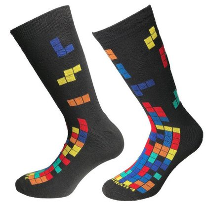 Meia Phante Socks Fun Tetris