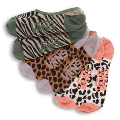 Meia Vans Safari Kit C/3 Multicores
