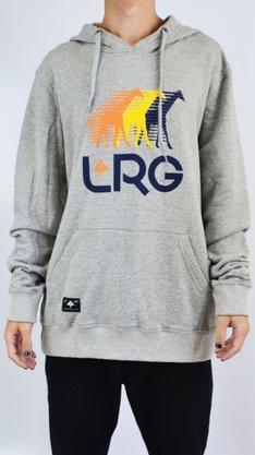 Moletom Canguru LRG Runners Mescla Claro