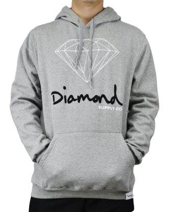 Moletom Diamond OG Sign Mescla Claro