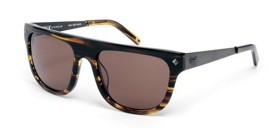 Óculos Vulk Eyewear 1977 C5 Marrom